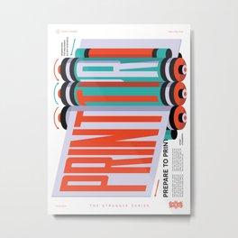 TSS 005: Respect The Press Metal Print