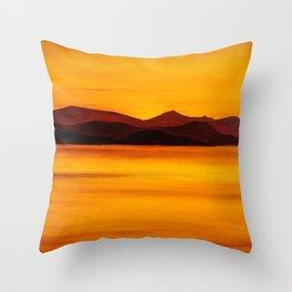 Koh Samui Sunset Throw Pillow