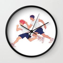 run boys run Wall Clock