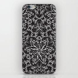 B&W decorative pattern iPhone Skin