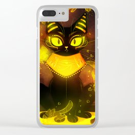 Bastet- the Goddess of Cats Clear iPhone Case