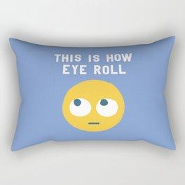 Snide Effects Rectangular Pillow