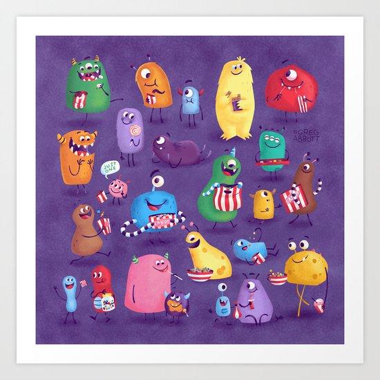I Love Sweeties Art Print