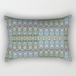 Colorful Luxury Ornate Pattern Rectangular Pillow