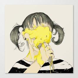 BB cream Canvas Print