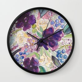 50 Shades of Gray and Some Other Colors Wall Clock