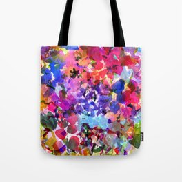 Jelly Bean Wildflowers Tote Bag