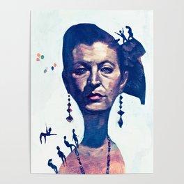Lady Horizon Poster