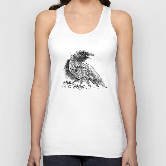 Raven / Crow Unisex Tank Top