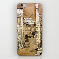 bauhaus iPhone & iPod Skins featuring Bauhaus by Mike Oncley