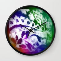 lace Wall Clocks featuring Lace by Geni