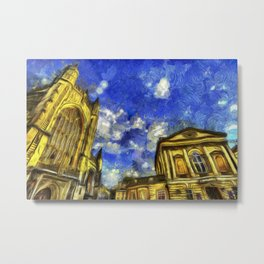 City Of Bath Vincent Van Gogh Metal Print