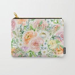 Pastel romantic garden Carry-All Pouch