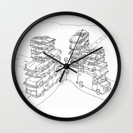 we are at a crossroads Wall Clock