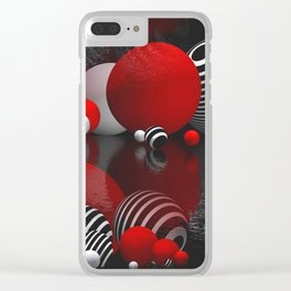 3D abstraction -24- Clear iPhone Case