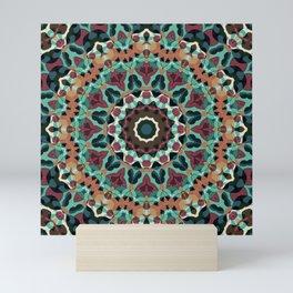 Mandala, folk Mini Art Print