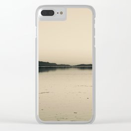 I kissed you goodbye Clear iPhone Case