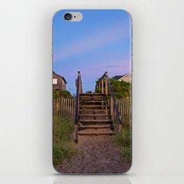 Beach Houses at Sunrise iPhone Skin