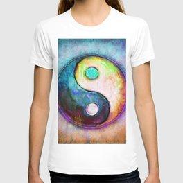 Yin Yang - Colorful Painting V T-shirt