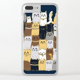 The Glaring - Parisian Palette Clear iPhone Case