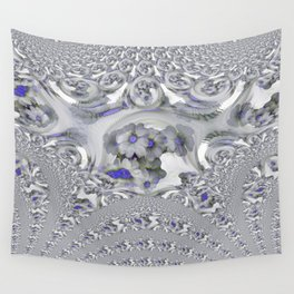 White Lacy Wall Tapestry