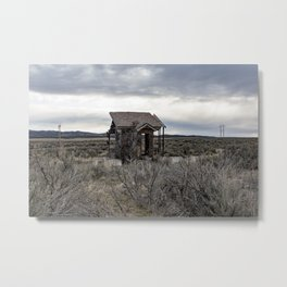 The House Half Built Metal Print