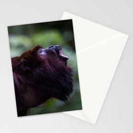 Mono Aullador Stationery Cards