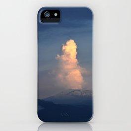 Nevado del Ruiz volcano iPhone Case