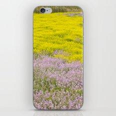 Spring flowers. Magic fields iPhone & iPod Skin