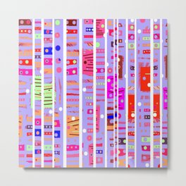 Color Square 11 Metal Print