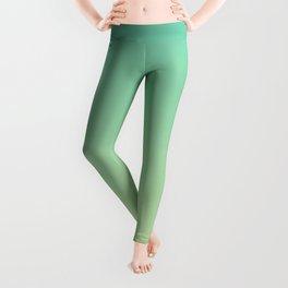 Green and Yellow Gradient. Leggings