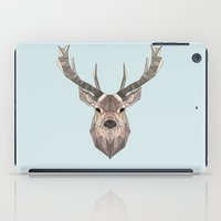 stag iPad Cases featuring Stag by LydiaSchüttengruber