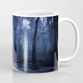 Dark Misty Road Coffee Mug