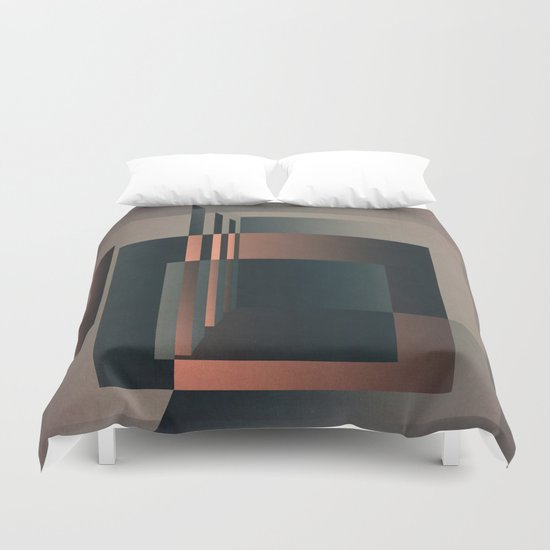 Geometric Room Duvet Cover