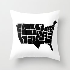 America from Memory Throw Pillow