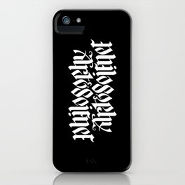 Philosophy, Art & Science iPhone Case