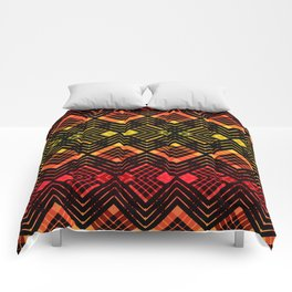 TARTAN REVISTED - RED Comforters