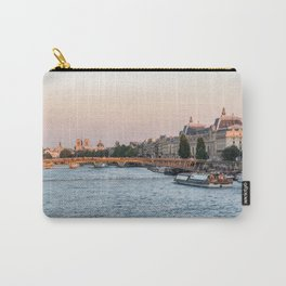 Passerelle Leopold Sedar Senghor and Musee d'Orsay in Paris Carry-All Pouch