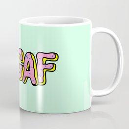 IDGAF Pink Donuts Coffee Mug