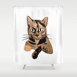 Cocoa Shower Curtain
