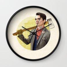 Mr. Michigan Wall Clock