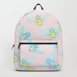 Bee Pattern Backpack