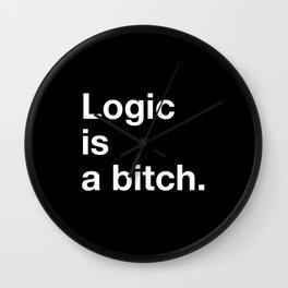 Logic is a bitch. Wall Clock