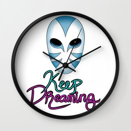 Keep Dreaming Wall Clock