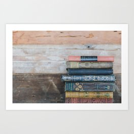 Reading day Art Print