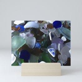 Sea Glass Assortment 4 Mini Art Print