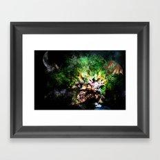 Yggdrasill Framed Art Print