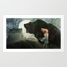 Bear Language Art Print