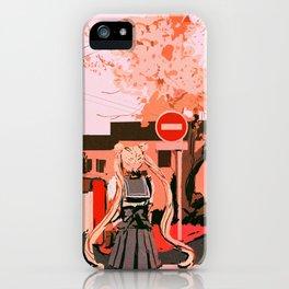 Huevember iPhone Case