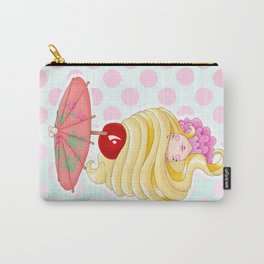 Doll faced Dole whip Carry-All Pouch